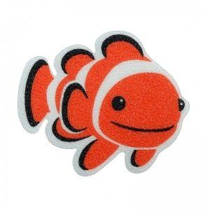 Anti-Slip Clownfish Bath Treads